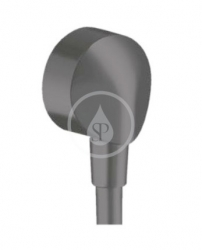 HANSGROHE - Fixfit Přípojka hadice E bez zpětného ventilu, matná černá (27454670)