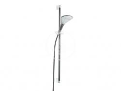 KLUDI - Fizz Sada sprchové hlavice, hadice a tyče 900 mm, 3 proudy, černá mat (6774087-00)