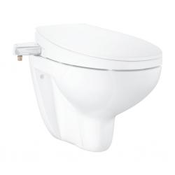 GROHE - Bau Ceramic Manuální bidetové sedátko s keramikou, softclose, alpská bílá (39651SH0)