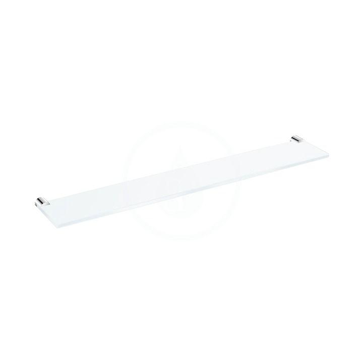 JIKA Basic Skleněná polička 570 mm, chrom H3853A20040001