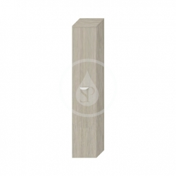 JIKA - Deep Vysoká skříňka závěsná, 300x270x1620 mm, levé dveře, zlatý dub (H4541514343411)