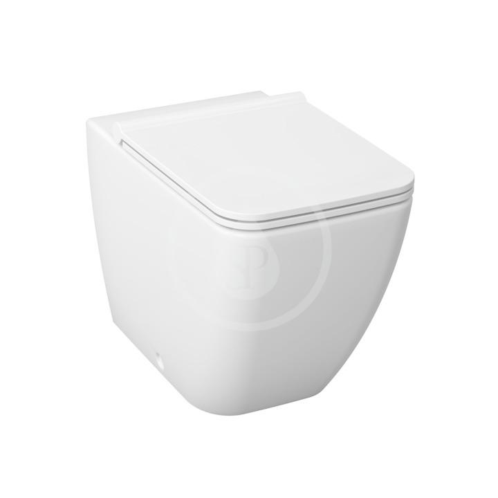 JIKA Pure Stojící WC s hlubokým splachováním, Antibak, bílá H8234240000001