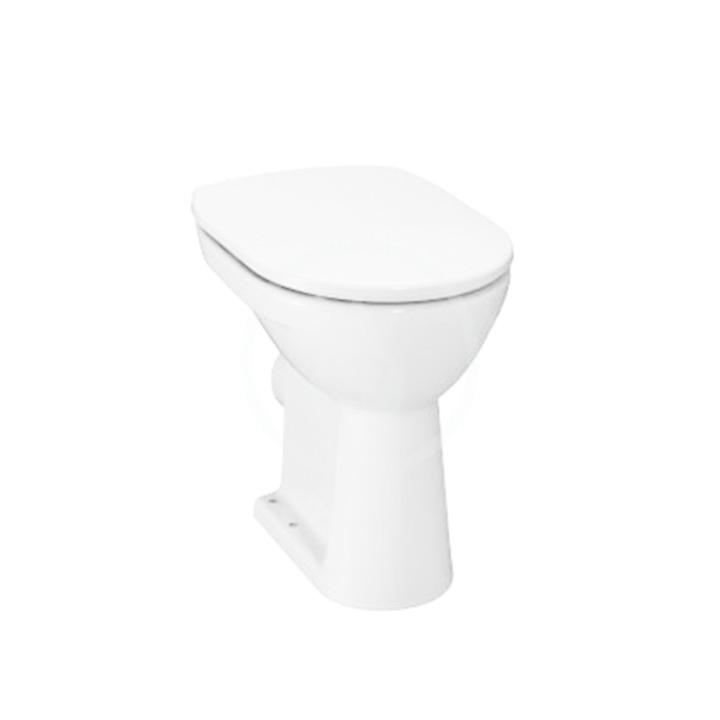 JIKA Lyra plus Stojící WC, zadní odpad, ploché splachování, bílá H8253860000001