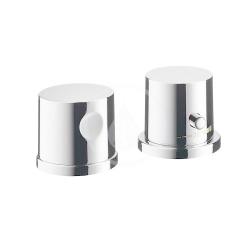 AXOR - Uno Vrchní sada termostatické baterie na okraj vany, 2-otvorová instalace, chrom (38480000)