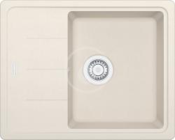 FRANKE - Basis Fragranitový dřez BFG 611-62, 620x500 mm, pískový melír (114.0285.108)