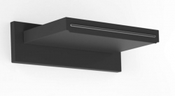 TRES - Nástěnné sprchové kropítko s kaskádou 152x200mm (29990304NM)