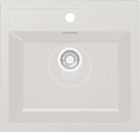 FRANKE - Sirius Tectonitový dřez SID 610, 560x530 mm, kávová (114.0264.013)