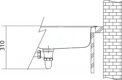 FRANKE - Sirius Tectonitový dřez SID 610, 560x530 mm, kávová (114.0264.013), fotografie 2/3