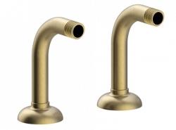 TRES - Rohový ventil vana-sprcha 2kusy stlumičem (24287101LM)