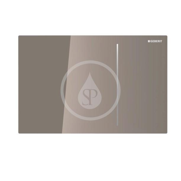GEBERIT Sigma70 Ovládací tlačítko Sigma70, pro splachovací nádržku pod omítku Sigma 12 cm, hnědá 115