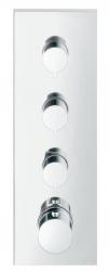 AXOR - ShowerCollection Vrchní sada termostatového modulu, chrom (10751000)