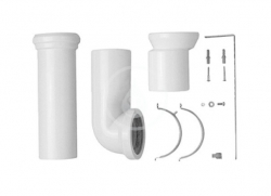 DURAVIT - Příslušenství Vario připojovací sada pro WC, bílá (0014220000)