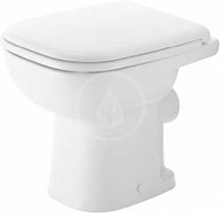 DURAVIT - D-Code Stojící WC, bílá (21080900002)
