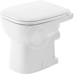 DURAVIT - D-Code Stojící WC, s plochým splachováním, bílá (21090900002)