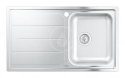 Dřezy Dřez K500 s automatickým odtokem, 860x500 mm (31571SD0) - GROHE