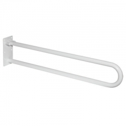 MEREO - Madlo sklopné, bílé, 83 cm (KD300)