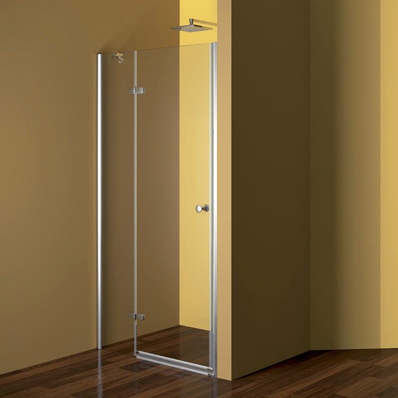 MEREO Sprchové dveře, Fantasy, 80x190 cm, chrom ALU, sklo Point, levé provedení CK10112LE