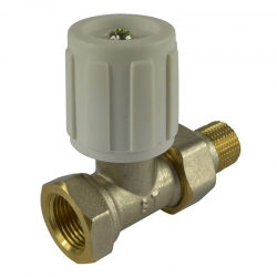 """MEREO - Ventil radiátorový přímý, jednoregulační, 3/8"""" (PR8050)"""