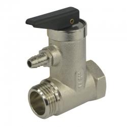 "MEREO - Ventil pojišťovací pro bojler, 3/4"", FxM, 6,5 bar (CR188C)"