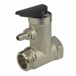 "MEREO - Ventil pojišťovací pro bojler, 1/2"", MxF, 5,9 bar (CR188)"