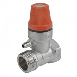 "MEREO - Ventil pojišťovací pro bojler, 1/2"", MxF, 6 bar (CR188B)"