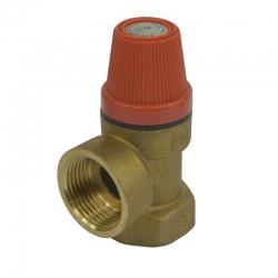 """MEREO - Pojišťovací ventil pro bojler s pevně nastaveným tlakem 6 bar, 1/2"""" (PR2413C)"""