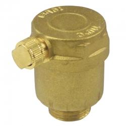 """MEREO - Ventil automatický odvzdušňovací, nízký, 1/2"""" (CR189B)"""