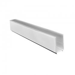 MEREO - Lišta fixační a vymezovací pro sprchové kouty a dveře, chrom ALU, výška 1900 mm (CKND250H)
