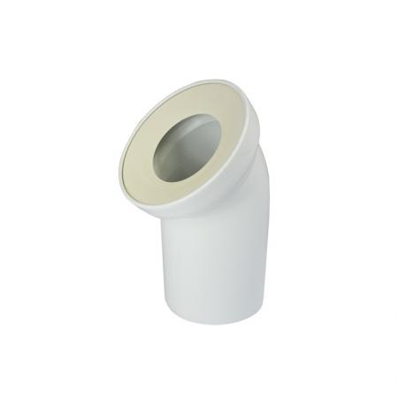 MEREO - WC univerzální odtokové koleno DN 100/D 110, 45°, šikmé (PR7088C (58102010019))