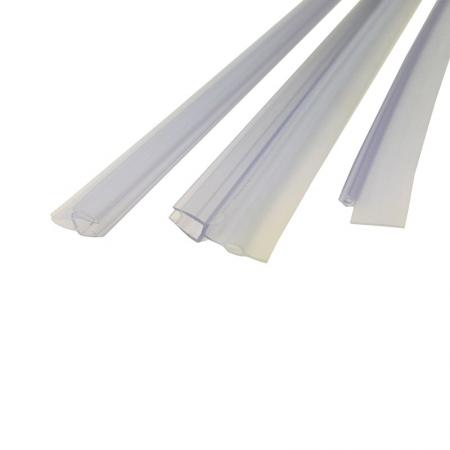 MEREO - Stírací lišta silikonová spodní pro kouty Fantasy CK70101H, CK70104H, 2 ks (CKND300H)