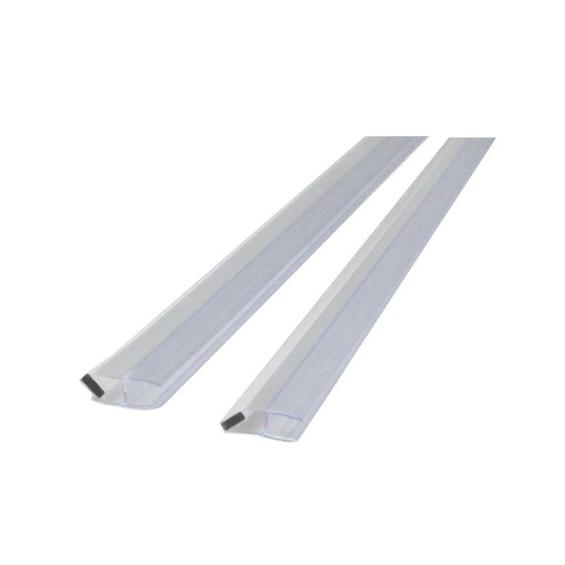 MEREO Magnetická lišta bílá, 45°, výška 2 m, pro skla serie Novea tl. 6 mm, 1 ks CKND12ZM