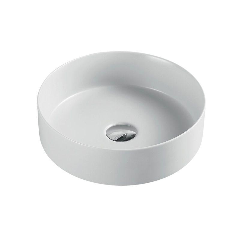 MEREO Umyvadlo na desku bez přepadu, 355x120 mm, kulaté, keramické UC363612C