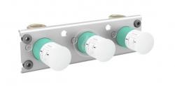 AXOR - Montážní tělesa Základní těleso pro termostat na stěnu/pod omítku pro 2 spotřebiče (45442180)