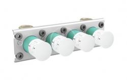 AXOR - Montážní tělesa Základní těleso pro termostat pro 3 spotřebiče (45443180)