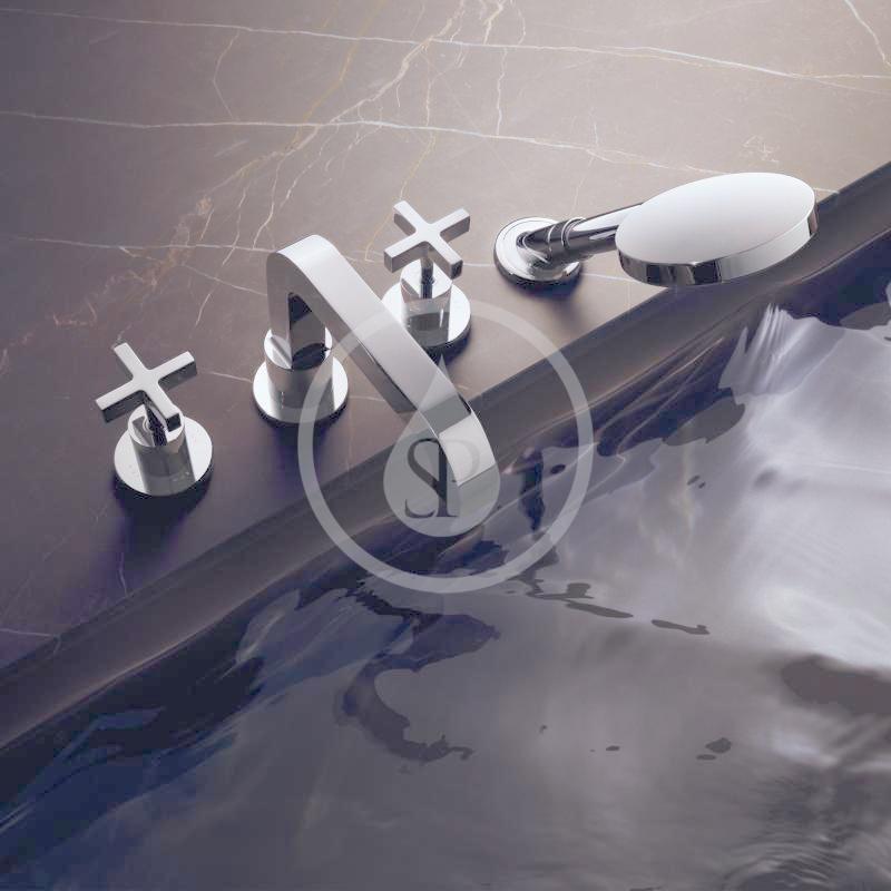 AXOR - Citterio Vanová baterie, 4-otvorová instalace, chrom (39445000)
