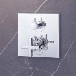 AXOR - Citterio Vanová termostatická podomítková baterie, chrom (39725000), fotografie 6/3