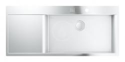 Dřezy Dřez K1000 s automatickým odtokem, 1160x520 mm (31582SD0) - GROHE