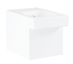 GROHE - Cube Ceramic Stojící WC, rimless, PureGuard, alpská bílá (3948500H)