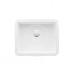 Laufen - Living Vestavné umyvadlo, 350 x 280 mm, bílá - bez otvoru pro baterii (H8124340001091)