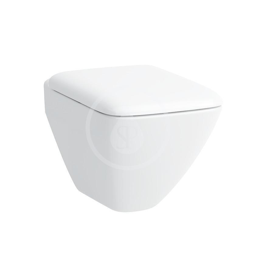 Laufen Palace Závěsný klozet compact, 490 x 360 mm, bílá standardní provedení H8207030000001