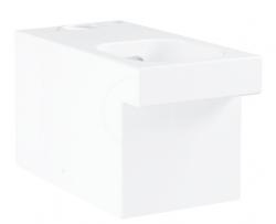 GROHE - Cube Ceramic WC mísa kombi, rimless, PureGuard, alpská bílá (3948400H)