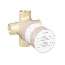 AXOR - Montážní tělesa Těleso pro Quattro čtyřcestný přepínací ventil pod omítku (16930180)
