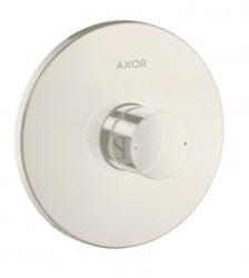 AXOR - Uno Sprchová podomítková baterie s rukojetí Zero, kartáčovaný nikl (45605820)