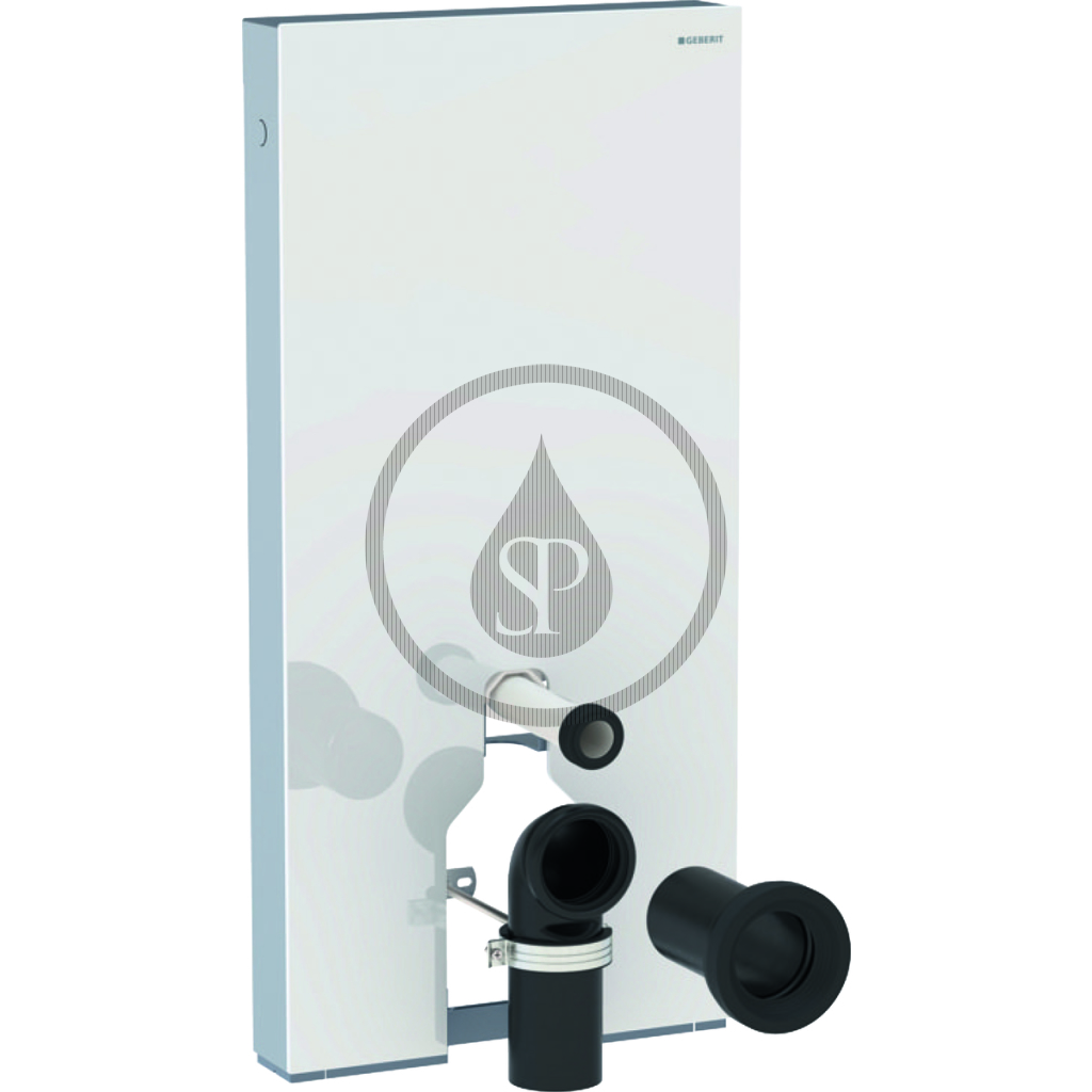 GEBERIT Monolith Plus Sanitární modul pro stojící WC, 101 cm, spodní přívod vody, bílá 131.201.SI.5
