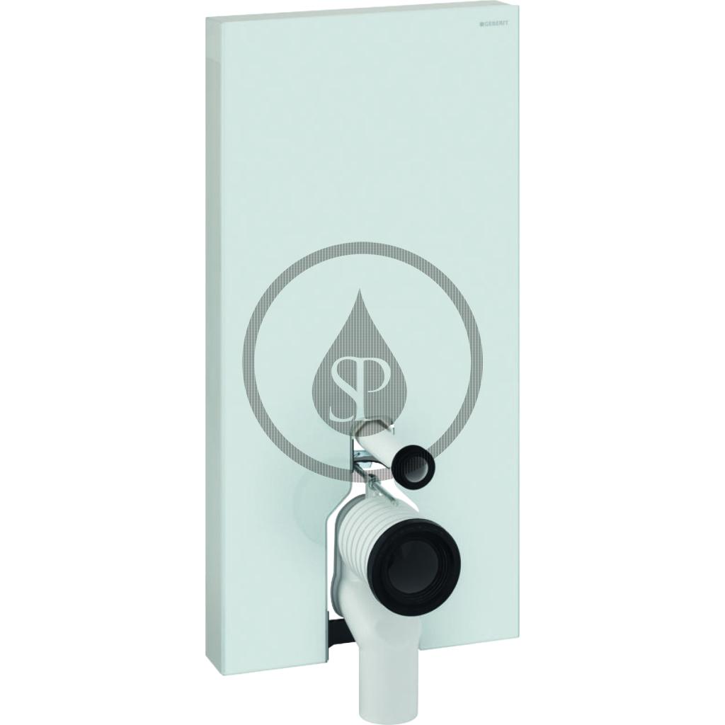 GEBERIT Monolith Plus Sanitární modul pro stojící WC, 101 cm, boční přívod vody, bílá 131.203.SI.5