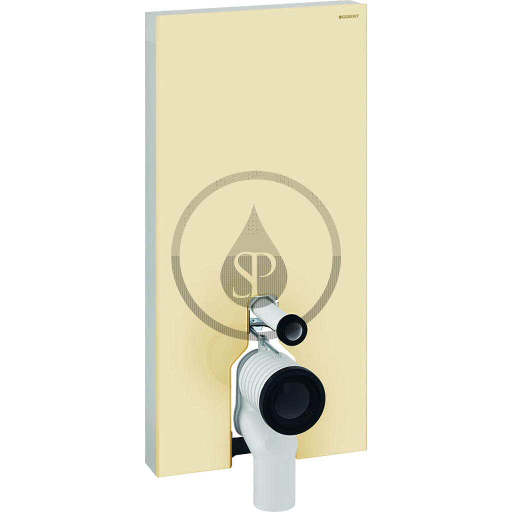 GEBERIT Monolith Plus Sanitární modul pro stojící WC, 101 cm, boční přívod vody, písková 131.203.TG.