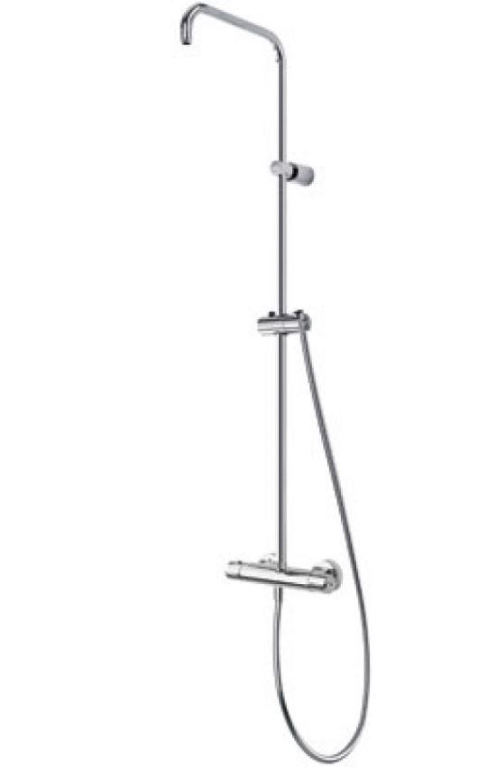TRES Souprava termostatické sprchové baterie bez příslušenství 08149501