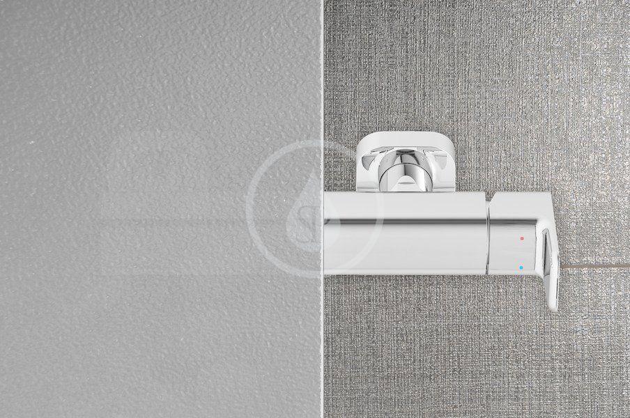 RAVAK - Blix Sprchové dveře BLDP2-110, 1070-1110 mm, satin/sklo Grape (0PVD0U00ZG)