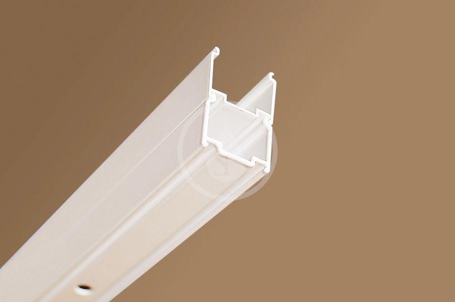 RAVAK - Blix Sprchové dveře BLDP2-120, 1170-1210 mm, satin/čiré sklo (0PVG0U00Z1)