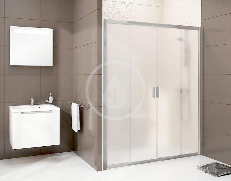 RAVAK - Blix Sprchové dveře čtyřdílné BLDP4-200, 1970-2010 mm, lesklý hliník/sklo Grape (0YVK0C00ZG)